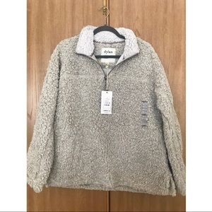 Dylan Stadium Sherpa 1/4 Zip Pullover - NWT